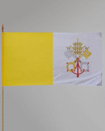 svilena vatikanska zastava za unutarnju uporabu